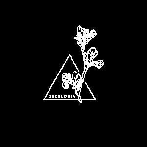 Decologia logo blanc