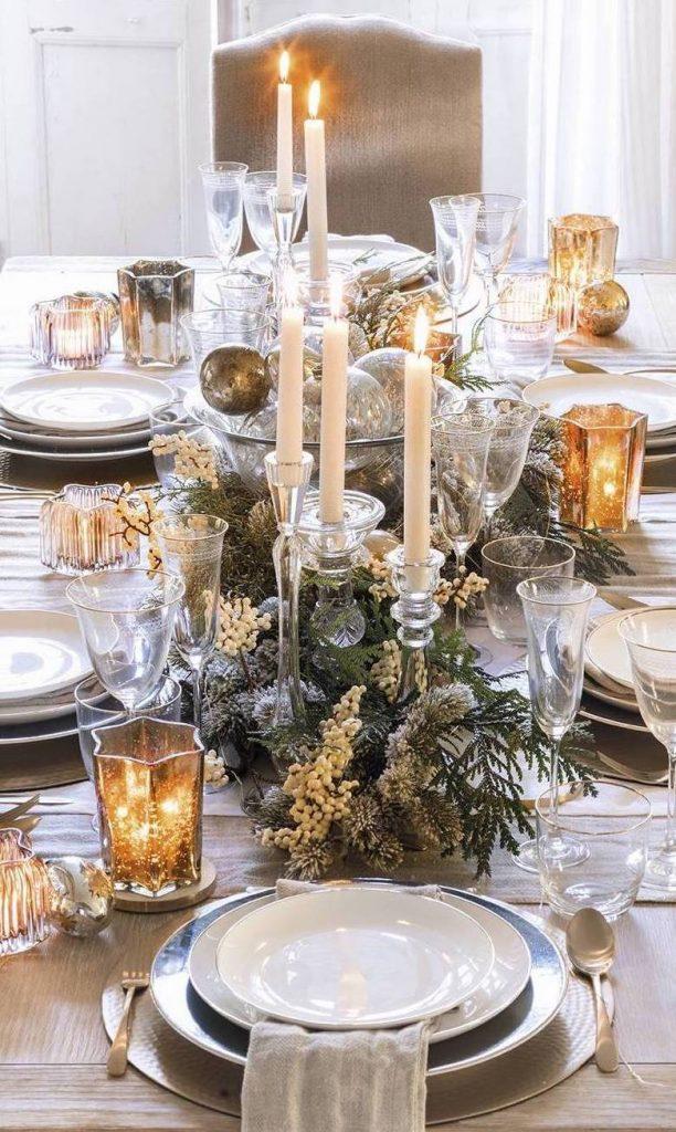 Noël écolo art de la table