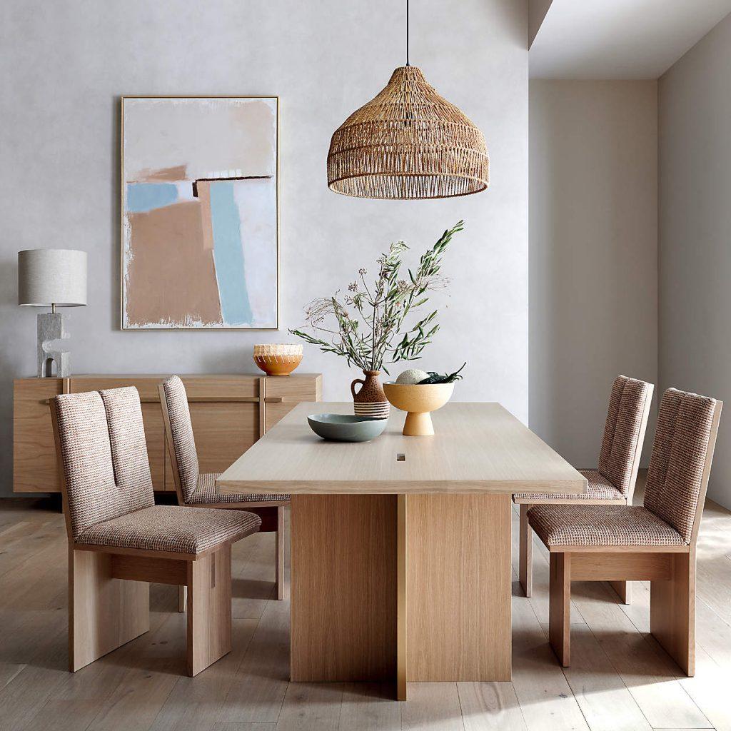Tables en bois massif naturel 1