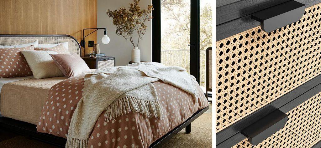 Armoire écologique - 2 photos un lit et une armoire