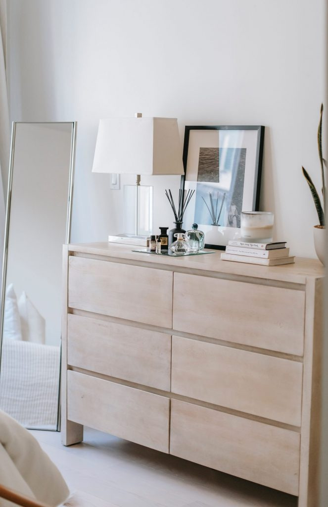 Consoles bois naturel beige