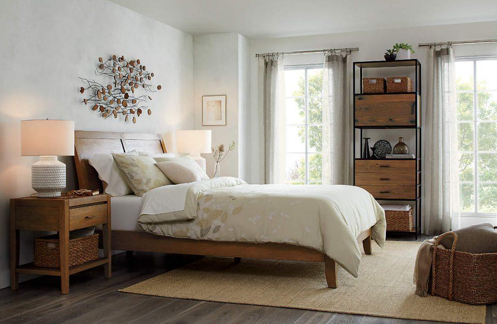 Déco armoire en bois massif naturel coup de coeur